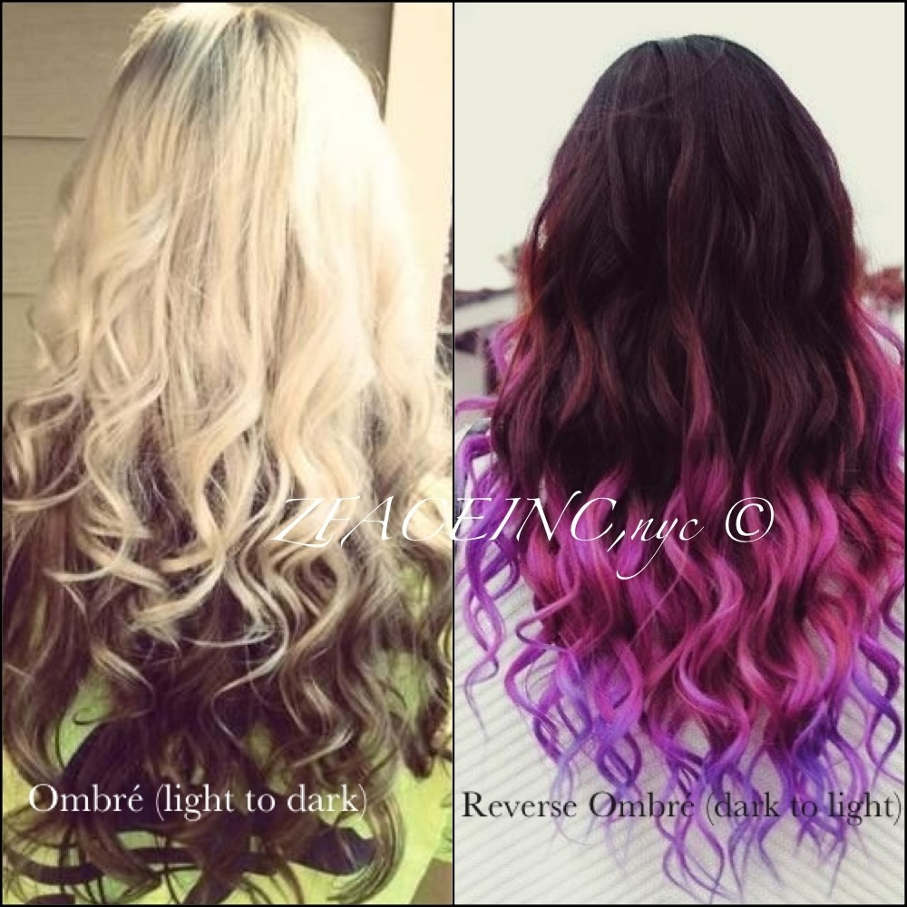 Ombr Reverse Ombr Ombre The Glam Squad Files